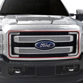 Ford F250 custom grille