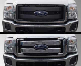 Overlay Grille | Ford F250