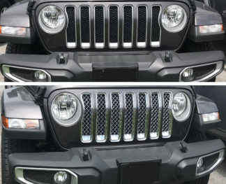 Overlay Grille   Jeep Wrangler