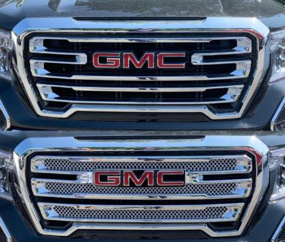 Overlay Grille   GMC Sierra