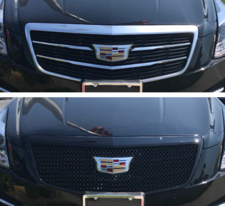 2015-2018 Cadillac ATS ALL MODELS | 2019-2019 Cadillac ATS  1PC Gloss Black Overlay Grille