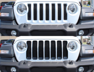 Overlay Grille | Jeep Wrangler
