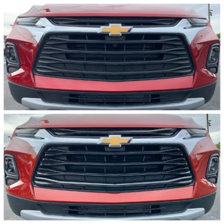 2019-2020 Chevrolet Blazer  5PC Gloss Black  Overlay Grille