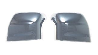 2016-2020 Nissan Titan XD  TOP COVER W/SIGNAL TOW STYLE Chrome Mirror Cover