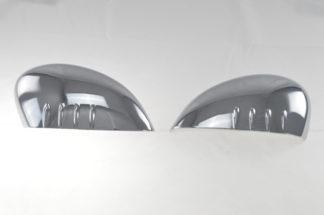 2011-2019 Ford Fiesta  W/SIGNAL TOP COVER Chrome Mirror Cover