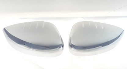 2011-2019 Ford Fiesta  TOP COVER NO SIGNAL Chrome Mirror Cover