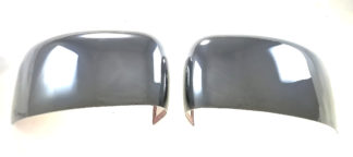 2015-2020 Jeep Renegade  NO SIGNAL FULL COVER Chrome Mirror Cover