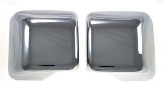 2018-2020 Jeep Wrangler  | 2020-2020 Jeep Gladiator  JL Models FULL COVER Chrome Mirror Cover