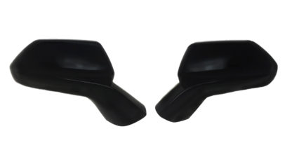 2016-2020 Chevrolet Camaro  PARTIAL COVER (ONLY COVERS OEM CAP) Gloss Black Mirror Cover