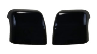 2016-2020 Nissan Titan XD  TOP COVER W/SIGNAL TOW STYLE Gloss Black Mirror Cover