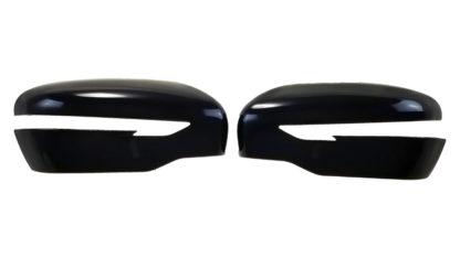 2014-2020 Nissan Rogue   2015-2017 Nissan Juke   2015-2020 Nissan Murano   2017-2020 Nissan Pathfinder W/SIGNAL TOP COVER Gloss Black Mirror Cover