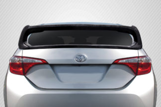 2014-2018 Toyota Corolla Carbon Creations Type M Rear Wing Spoiler – 2 Piece