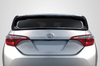 2014-2018 Toyota Corolla Carbon Creations Type M Rear Wing Spoiler - 2 Piece