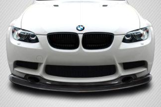 2008-2013 BMW M3 E90 E92 E93 Carbon Creations GT4 Look Front Lip Under Spoiler - 1 Piece