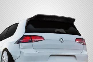 2015-2019 Volkswagen Golf / GTI Carbon Creations TKO RBS Roof Wing Spoiler - 1 Piece