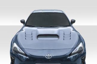2013-2020 Scion FR-S Toyota 86 Subaru BRZ Duraflex STI Look Hood - 1 Piece