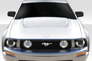 2005-2009 Ford Mustang Duraflex GTH Look Hood - 1 Piece