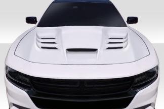 2015-2020 Dodge Charger Duraflex Viper Hood - 1 Piece