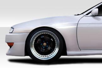 1997-1998 Nissan 240SX S14 Duraflex Kouki OEM Look Fenders - 2 Piece