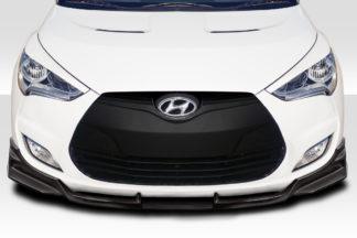 2012-2017 Hyundai Veloster Duraflex EBS Front Lip Spoiler - 3 Piece