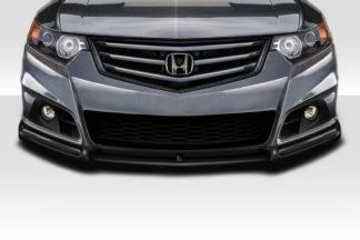 2009-2014 Acura TSX Duraflex HFP V3 Look Front Lip Under Spoiler Air Dam - 1 Piece ( fits modulo bumper only )