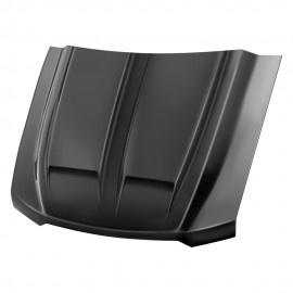 CHEVROLET SILVERADO 1500 PAINTED FUNCTIONAL RAM AIR HOOD 2016 - 2018 / RAHSIL16