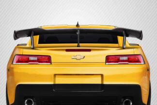 2014-2015 Chevrolet Camaro Carbon Creations ZL1 V2 Look Wing Spoiler - 4 Piece