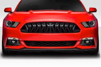 2015-2017 Ford Mustang Duraflex Predator Grille - 1 Piece