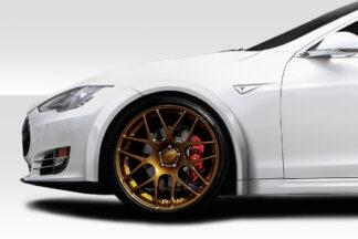 2012-2020 Tesla Model S Duraflex RVS Front Fender Flares - 4 Piece