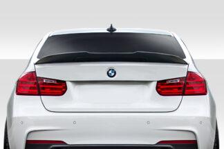 2012-2018 BMW 3 Series F30 / 2014-2019 M3 F80 Duraflex Plasma Rear Wing Spoiler - 1 Piece