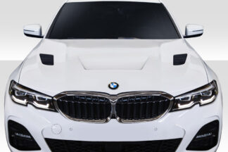 2019-2020 BMW 3 Series G20 Duraflex AF1 Look Hood - 1 Piece
