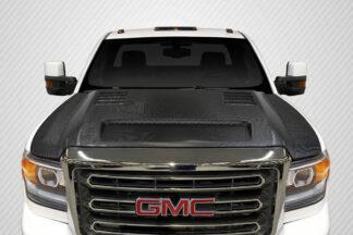 2016-2020 GMC Sierra 2500 3500 Heavy Duty Carbon Creations RKS Hood - 1 Piece