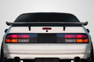 1986-1991 Mazda RX-7 Carbon Creations K Spec Rear Wing Trunk Lid Spoiler - 1 Piece