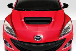 2010-2013 Mazda MazdaSpeed 3 Duraflex Ram Air Hood Scoop - 1 Piece