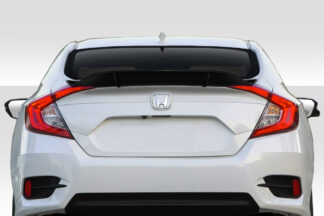 2016-2020 Honda Civic 4DR Duraflex Duckbill Rear Wing Spoiler - 3 Piece
