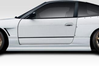 1989-1994 Nissan 240SX S13 Duraflex Supercool V2 Side Skirts Rocker Panels - 2 Piece