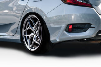 2016-2020 Honda Civic 4DR Duraflex HFP Look Rear Lip Add On - 2 Piece