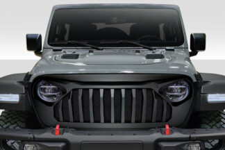 2019-2020 Jeep Wrangler JL Gladiator JT Duraflex Predator Grille - 1 Piece