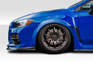 2015-2020 Subaru WRX Duraflex Speed Fender Flares - 6 Piece
