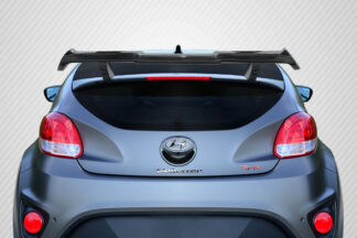 2012-2017 Hyundai Veloster Turbo Carbon Creations MR Wing Spoiler - 3 Piece