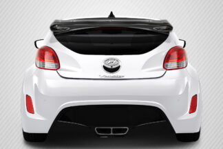 2012-2017 Hyundai Veloster Carbon Creations Sequential Wing Spoiler - 3 Piece ( will not fit turbo models )