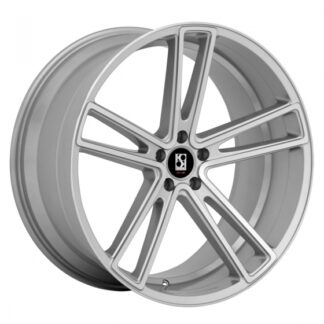 Koko Kuture Wheel - MASSA-5 Silver Machined Face