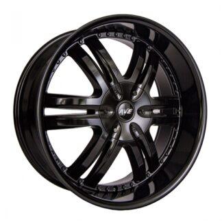 Avenue Wheel - A607 Satin Black