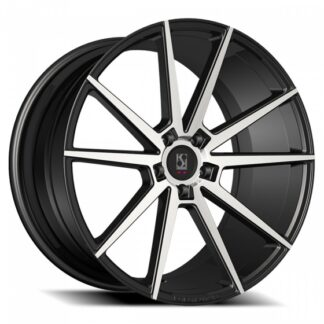 Koko Kuture Wheel - LE MANS Gloss Black Machined Face