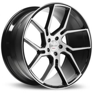 Gianelle Wheel - DILIJAN Gloss Black Machined Face