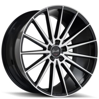 Gianelle Wheel - VERDI Gloss Black Machined Face