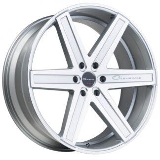 Giovanna Wheel - DRAMUNO-6 Silver Machined Face