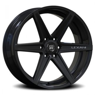 Lexani Wheel - SAVAGE-6  Gloss Black