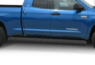 iStep Wheel To Wheel 6 Inch Running Boards | 2007-2020 Toyota Tundra Double Cab 6.5 ft Bed 2007-2020 Toyota Tundra CrewMax Cab 6.5 ft Bed (Black) - Pair