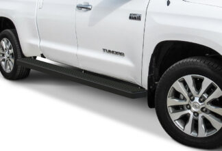 iStep Wheel To Wheel 6 Inch Running Boards | 2007-2020 Toyota Tundra Double Cab 5.5 ft Bed 2007-2020 Toyota Tundra CrewMax Cab 5.5 ft Bed (Black) - Pair